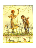 CA Fairy 72 Giclee Print by  Vintage Apple Collection