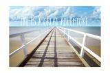 Life Is a Great Adventure Lámina giclée por Tina Lavoie