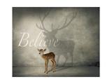 Believe 3 Giclee Print by  J Hovenstine Studios