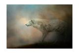 Journey of the Timber Wolf Giclee Print by Jai Johnson