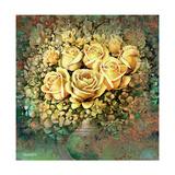 Yellow Roses Giclee Print by  Skarlett