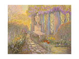 Wisteria Arbor Giclee Print by Judy Mastrangelo