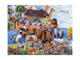 Noah's Ark Giclee Print by Jenny Newland