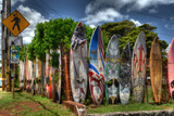 Surfboards Photographic Print by Robert Kaler