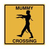 Mummy Crossing Giclee Print by Tina Lavoie