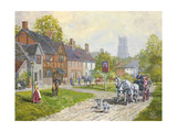 The Passing Carriage Giclee Print by Peter Snyder