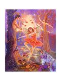 Autumn Ballet Giclee Print by Judy Mastrangelo