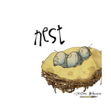 Nest Giclee Print by  Christine Anderson Illustration