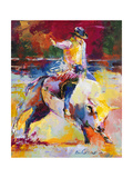 Rodeo Giclee Print by Richard Wallich