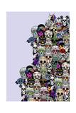 Skullssss 2 Giclee Print by Mark Ashkenazi