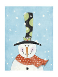 Snowman Giclee Print by Stephanie Marrott