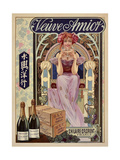 Spirits008 Giclee Print by Vintage Lavoie