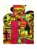 Pulp Fiction Giclee Print by  Abstract Graffiti