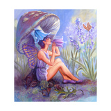Blue Bell Fairy Giclee Print by Judy Mastrangelo