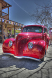 Vintage Red Car Photographic Print by Robert Kaler