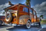 Orange Car Photographic Print by Robert Kaler