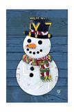 Bonhomme de neige Reproduction procédé giclée par  Design Turnpike