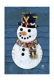 Snowman Giclee Print by  Design Turnpike