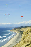 Hang Gliders Photographic Print by Toula Mavridou-Messer