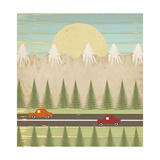 The Highway Giclee Print by Tammy Kushnir