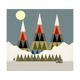 Evening Ride Giclee Print by Tammy Kushnir