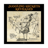 Juggling Secrets Giclee Print by Tim Nyberg