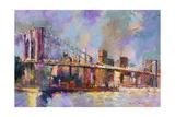 Brooklyn Bridge Giclee Print by Richard Wallich