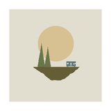 Sunny Day for Camping Giclee Print by Tammy Kushnir