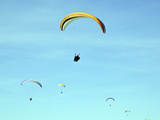 Hang Glider 10 Photographic Print by Toula Mavridou-Messer