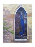 Stain Glass Window Giclee Print by Rusty Frentner