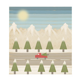 Winter Days Version 2 Giclee Print by Tammy Kushnir