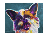 Brussels Griffon - Spicey Giclee Print by  Dawgart