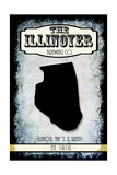 States Brewing Co Illinois Giclee Print by  LightBoxJournal