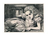 Alice in Wonderland Giclee Print by  Vintage Apple Collection