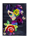 Sad Skull Giclee Print by  Artpoptart