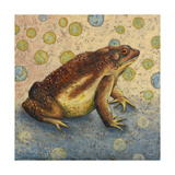 Toad Giclee Print by Rachel Paxton