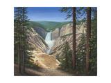 Lower Falls - Yellowstone Lámina giclée por Robert Wavra