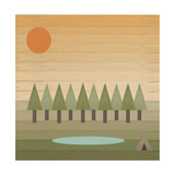 Camping Out Giclee Print by Tammy Kushnir