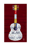 Guitar 1 Giclee Print by  Design Turnpike