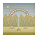 Campfire Giclee Print by Tammy Kushnir