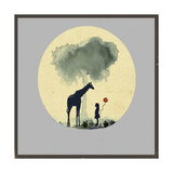 The Meeting with Balloons Giclee Print by Tammy Kushnir