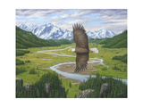 Soaring Above Giclee Print by Robert Wavra