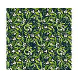 Mistletoe pattern I Giclee Print by  Irina Trzaskos Studio