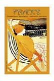 Travel 0317 Giclee Print by Vintage Lavoie