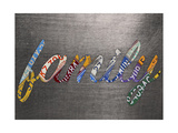 Family Sign Metal Giclee Print by  Design Turnpike