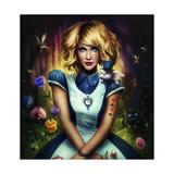 Alice in Wonderland Giclee Print by  JoJoesArt