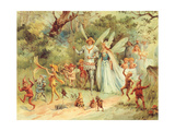 CA Fairy 21 Giclee Print by  Vintage Apple Collection