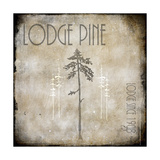Moose Lodge 2 - Lodge Pole 3 Giclee Print by  LightBoxJournal
