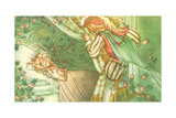 CA Fairy 37 Giclee Print by  Vintage Apple Collection