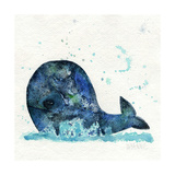 Little Whale Giclee Print by  Wyanne